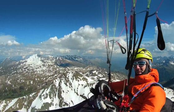 Über dem Alpenhauptkamm