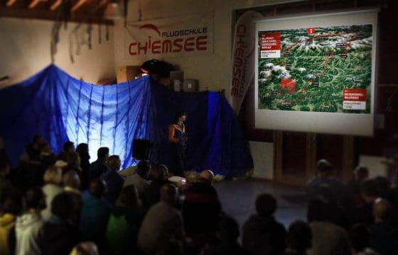 Vortrag Flugschule Chiemsee